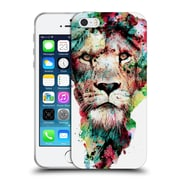 Official Riza Peker Animals The King Soft Gel Case For Apple Iphone 5 / 5S / Se