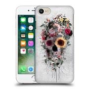 Official Riza Peker Skulls 4 Floral Hard Back Case For Apple Iphone 7