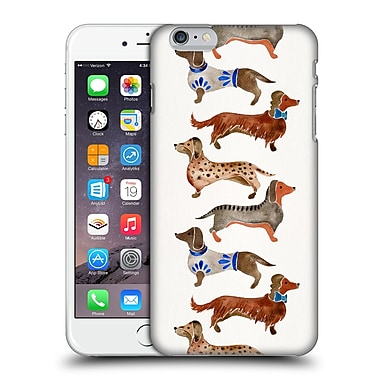 Official Cat Coquillette Animals Dachshunds Hard Back Case For Apple Iphone 6 Plus / 6S Plus