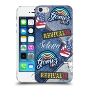 Official Selena Gomez Revival Art Patches Hard Back Case For Apple Iphone 5 / 5S / Se