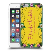 Official Frida Kahlo Purple Florals Frame Soft Gel Case For Apple Iphone 6 Plus / 6S Plus