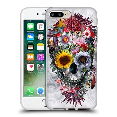 Official Riza Peker Skulls 4 Voodoo Soft Gel Case For Apple Iphone 7 Plus