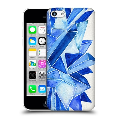 Official Cat Coquillette Watercoloured Gems Sapphire Hard Back Case For Apple Iphone 5C