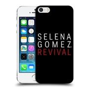 Official Selena Gomez Revival Art Tour Logo Hard Back Case For Apple Iphone 5 / 5S / Se