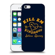 Official Selena Gomez Revival Art Kill Em With Kindness Soft Gel Case For Apple Iphone 5 / 5S / Se
