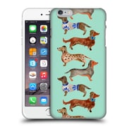 Official Cat Coquillette Animals Blue Dachshunds Hard Back Case For Apple Iphone 6 Plus / 6S Plus