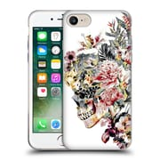 Official Riza Peker Skulls 2 Xii Soft Gel Case For Apple Iphone 7
