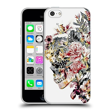 Official Riza Peker Skulls 2 Xii Soft Gel Case For Apple Iphone 5C