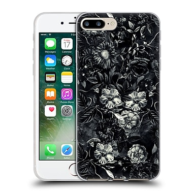 Official Riza Peker Flowers 3 Darkness Soft Gel Case For Apple Iphone 7 Plus