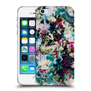 Official Riza Peker Flowers 2 Abstract Floral Iv Soft Gel Case For Apple Iphone 5 / 5S / Se