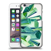 Official Cat Coquillette Watercoloured Gems Emerald Hard Back Case For Apple Iphone 6 / 6S