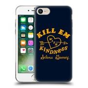Official Selena Gomez Revival Art Kill Em With Kindness Soft Gel Case For Apple Iphone 7