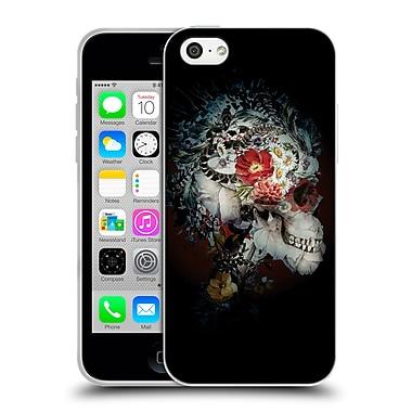 Official Riza Peker Skulls 3 Skull I Soft Gel Case For Apple Iphone 5C