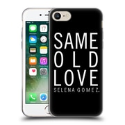 Official Selena Gomez Revival Art Same Old Love Soft Gel Case For Apple Iphone 7
