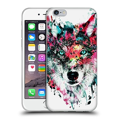 Official Riza Peker Animals Wolf Soft Gel Case For Apple Iphone 6 / 6S