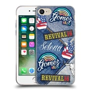 Official Selena Gomez Revival Art Patches Soft Gel Case For Apple Iphone 7