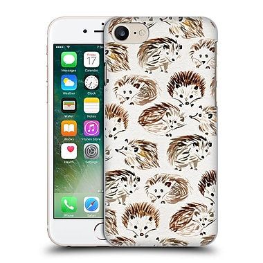 Official Cat Coquillette Animals Hedgehogs Hard Back Case For Apple Iphone 7