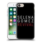 Official Selena Gomez Revival Art Tour Logo Soft Gel Case For Apple Iphone 7