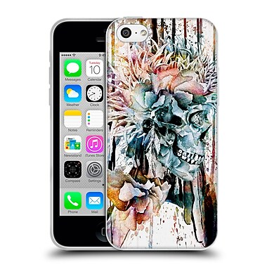 Official Riza Peker Skulls 3 Skull N - Ii Soft Gel Case For Apple Iphone 5C