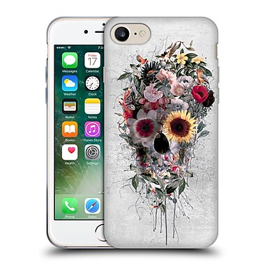 Official Riza Peker Skulls 4 Floral Soft Gel Case For Apple Iphone 7