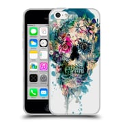 Official Riza Peker Skulls 3 Skull St - Ii Soft Gel Case For Apple Iphone 5C