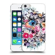 Official Riza Peker Skulls Love Forever Hard Back Case For Apple Iphone 5 / 5S / Se