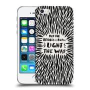 Official Cat Coquillette Quotes Typography 2 Bridges I Burn Black Soft Gel Case For Apple Iphone 5 / 5S / Se