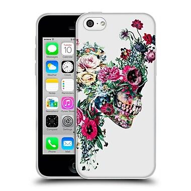 Official Riza Peker Skulls 2 Vii Soft Gel Case For Apple Iphone 5C