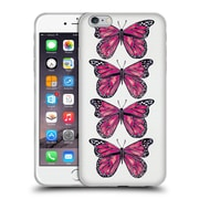 Official Cat Coquillette Insects Pink Butterfly Soft Gel Case For Apple Iphone 6 Plus / 6S Plus