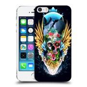Official Riza Peker Skulls 4 Vivid Ii Hard Back Case For Apple Iphone 5 / 5S / Se