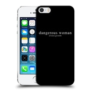 Official Ariana Grande Dangerous Woman Text Hard Back Case For Apple Iphone 5 / 5S / Se