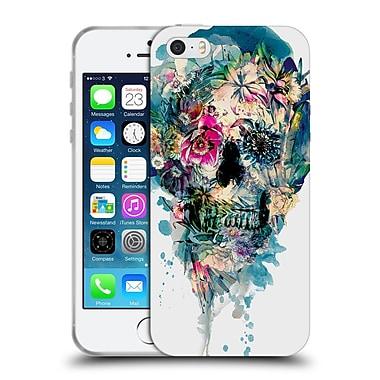 Official Riza Peker Skulls 3 Skull St - Ii Soft Gel Case For Apple Iphone 5 / 5S / Se