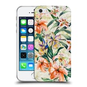 Official Riza Peker Flowers 2 Floral Iii Soft Gel Case For Apple Iphone 5 / 5S / Se