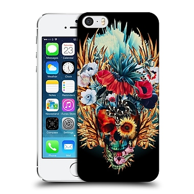 Official Riza Peker Skulls 4 Vivid Hard Back Case For Apple Iphone 5 / 5S / Se