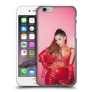 Official Ariana Grande Dangerous Woman Red Leather Hard Back Case For Apple Iphone 6 / 6S