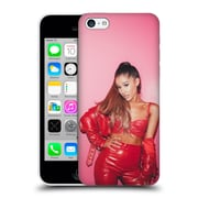 Official Ariana Grande Dangerous Woman Red Leather Hard Back Case For Apple Iphone 5C