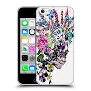 Official Riza Peker Skulls 2 Punk Soft Gel Case For Apple Iphone 5C