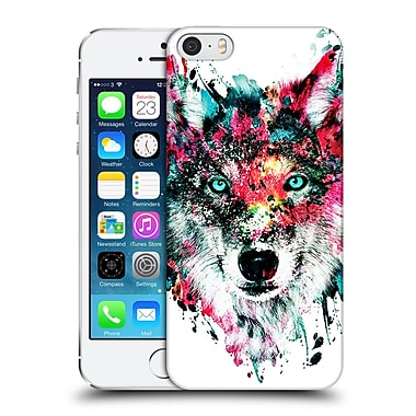 Official Riza Peker Animals Wolf Hard Back Case For Apple Iphone 5 / 5S / Se