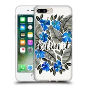 Official Cat Coquillette Quotes Typography 4 Killin' It Blue Soft Gel Case For Apple Iphone 7 Plus
