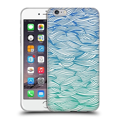 Official Cat Coquillette Patterns 2 Ombre Waves Soft Gel Case For Apple Iphone 6 Plus / 6S Plus