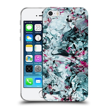 Official Riza Peker Flowers Floral Xii Soft Gel Case For Apple Iphone 5 / 5S / Se