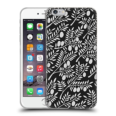 Official Cat Coquillette Patterns White Olive Branches Soft Gel Case For Apple Iphone 6 Plus / 6S Plus