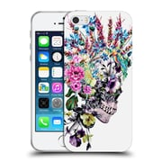 Official Riza Peker Skulls 2 Punk Soft Gel Case For Apple Iphone 5 / 5S / Se