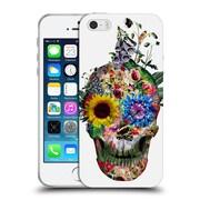 Official Riza Peker Skulls Punks Not Dead Soft Gel Case For Apple Iphone 5 / 5S / Se