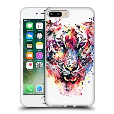 Official Riza Peker Animals Eye Of The Tiger Soft Gel Case For Apple Iphone 7 Plus