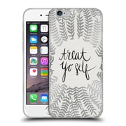 Official Cat Coquillette Treat Yo Self Silver Soft Gel Case For Apple Iphone 6 / 6S