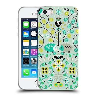 Official Cat Coquillette Animals Hedgehogs Symmetry Soft Gel Case For Apple Iphone 5 / 5S / Se