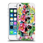 Official Riza Peker Skulls 2 Skull Tower Soft Gel Case For Apple Iphone 5 / 5S / Se