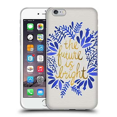 Official Cat Coquillette Quotes Typography 1 Future Is Bright Gold Soft Gel Case For Apple Iphone 6 Plus / 6S Plus