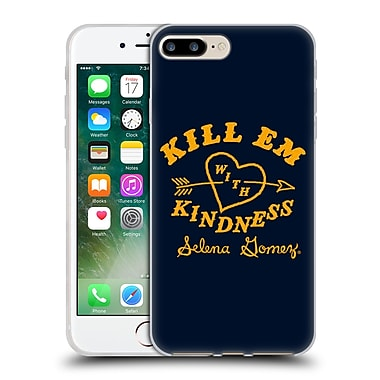 Official Selena Gomez Revival Art Kill Em With Kindness Soft Gel Case For Apple Iphone 7 Plus